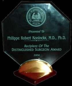 2004 ASRM Prijs voor chirurgie