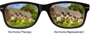 Hormoon therapie versus hormonale substitutietherapie
